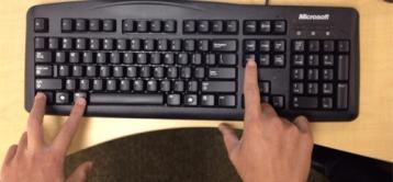 Keyboard short cuts