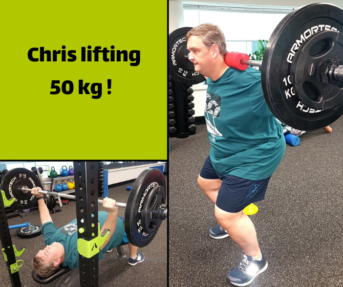 Functional Training Chris Tesky_lifting 50kg